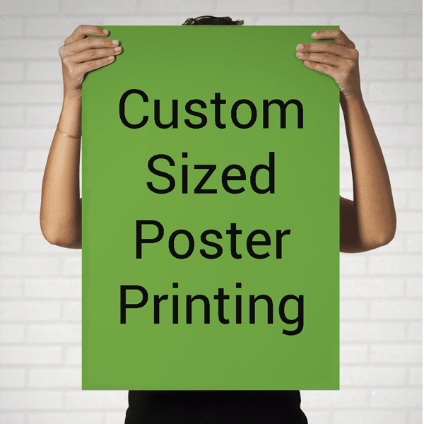 Print poster size image